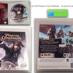 JOC PS3 Sony PIRATES of the CARIBBEAN -at world's end- Disney 16+ original Play Station stare buna game gaming consola Garantia de Livrare - Jocuri PS3