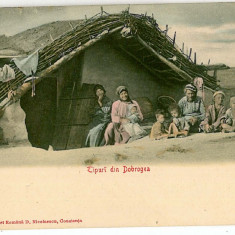2114 - Dobrogea, CONSTANTA, Ethnics - old postcard - unused