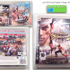 JOC PS3 Sony Virtua Fighter 5 Sega 16+ original Play Station stare buna game gaming consola Garantia de Livrare - Jocuri PS3