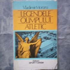 LEGENDELE OLIMPULUI ATLETIC VLADIMIR MORARU C11-571 - Carte sport