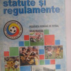 Statute si regulamente - Federatia Romana de Fotbal (carte de sport), stare exceptionala, 347 de pagini