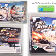 JOC PS3 Sony Full Auto 2 Battlelines 12+ original Play Station stare buna game gaming consola Garantia de Livrare - Jocuri PS3