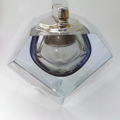 Bricheta GHB de birou, in suport masiv de cristal - Bricheta Cu Gaz