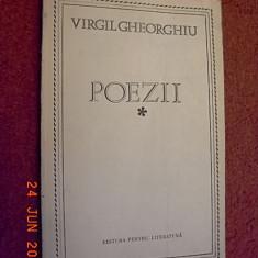 Poezii - Virgil Gheorghiu (dedicatie, autograf) - Carte Editie princeps