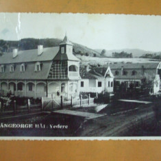 Carte postala Sangeorz Bai Vedere Cluj 1935, Circulata, Fotografie