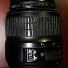 Vand obiectiv 18-55 mm Nikon - Obiectiv DSLR Nikon, Autofocus, Nikon FX/DX, Stabilizare de imagine