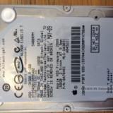 Hdd apple 160GB - HDD laptop Hitachi, 100-199 GB, Rotatii: 5400, SATA, 32 MB