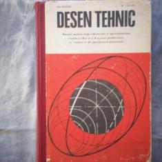 GHEORGHE HUSEIN, MIHAIL TUDOSE - DESEN TEHNIC MANUAL CLASA A IX-A, X C17- 871