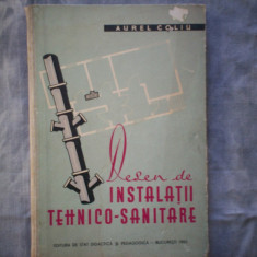 DESEN DE INSTALATII TEHNICO SANITARE AUREL COLIU C17- 876