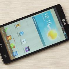 Vand LG L9 garantie + aceesorii / schimb cu iphone 4 - Telefon mobil LG Optimus L9, Negru, Neblocat