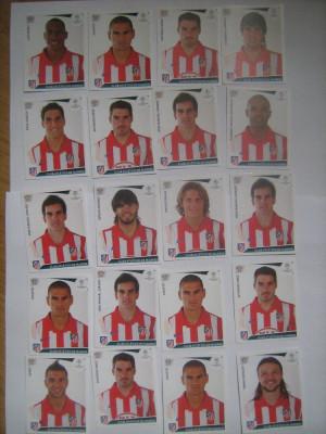 PANINI - Champions League 2009-2010 / Atletico Madrid (20 stikere) foto