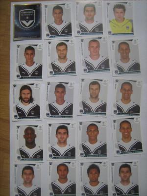 PANINI - Champions League 2009-2010 / Girondins de Bordeaux (20 stikere) foto