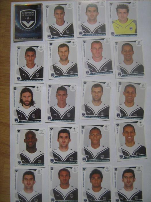 PANINI - Champions League 2009-2010 / Girondins de Bordeaux (20 stikere)