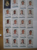 PANINI - Champions League 2009-2010 / Real Madrid (20 stikere)