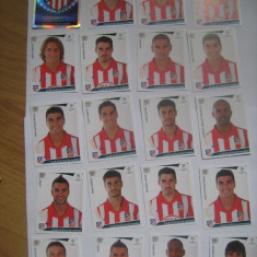 PANINI - Champions League 2009-2010 / Atletico Madrid (20 stikere)