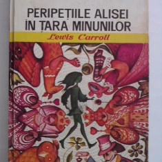 Peripetiile Alisei in Tara minunilor - Lewis Carroll (ilustratii de Angi Petrescu Tiparescu) / C15G - Carte educativa