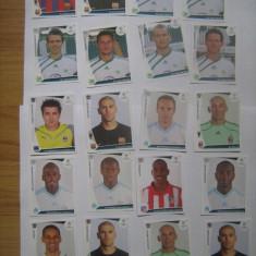 PANINI - Champions League 2009-2010 / lWolfsburb, Atletico Madrid, Girondins Bordeaux, Barcelona, AC Milan (20 stikere)