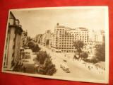 Ilustrata Bucuresti - B-dul .N.Balcescu ( Hotel International in prezent) , anii '50