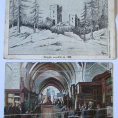 2 C.P. RUINELE CICEULUI IN 1866 SI BAZARUL CONSTANTINOPOLE DIN 1930/1911