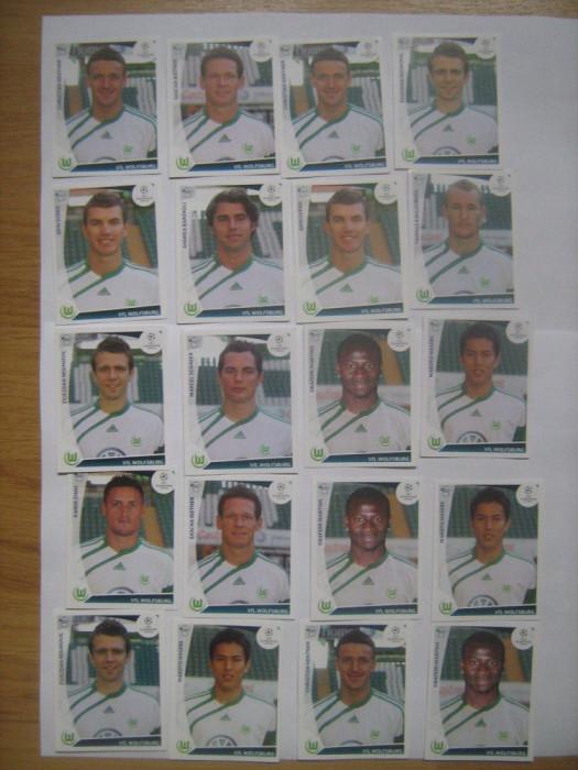 PANINI - Champions League 2009-2010 / VfL Wolfsburg (20 stikere)