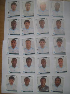 PANINI - Champions League 2009-2010 / Olympique de Marseille (20 stikere) foto