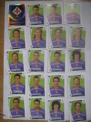 PANINI - Champions League 2009-2010 / Fiorentina (20 stikere) foto