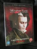 SWEENEY TODD (cu JOHNNY DEPP) - film DVD (original din ANGLIA, in stare impecabila!!!)