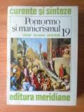 b Victor Ieronim Stoichita - Pontormo si manierismul