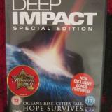 DEEP IMPACT. SPECIAL EDITION 1 DVD (cu MORGAN FREEMAN, original!) - Film SF, Engleza