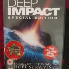 DEEP IMPACT. SPECIAL EDITION 1 DVD (cu MORGAN FREEMAN, original!), Engleza