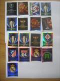 PANINI - Champions League 2009-2010 / logo-uri, sigle club (17 stikere)