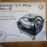 COOLER CPU ARTIC COOLING ALPINE 11 PRO REV.2 PERFECT FUNCTIONAL!