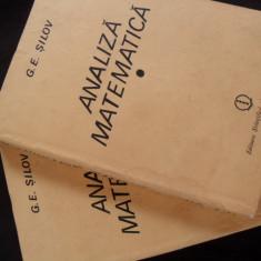 Analiza Matematica - G. E. Silov, editia a II-a, 1989 , curs special