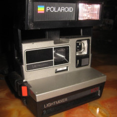 Polaroid 630 LightMixer, LM Program, 600 land camera. - Aparate Foto cu Film