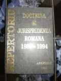 Doctrina si jurisprudenta romana 1989-1994