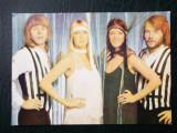 CARTE POSTALA ROMANIA CASA FILMULUI ACIN MUZICA FORMATIA ABBA **