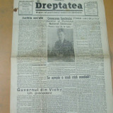 Dreptatea An XXII Numarul 401 17 iulie 1947 Unul din ultimele numere aparute inainte de interzicere!