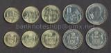 SERBIA █ SET COMPLET DE MONEDE █ 1, 2, 5, 10, 20 Dinara █ 2006 █ UNC