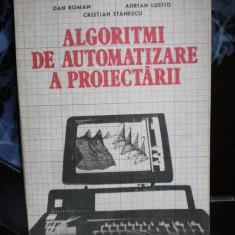 Algoritmi de automatizare a proiectarii - Dan Roman , Adrian Lustig, Cristian Stanescu