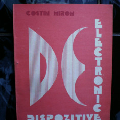 Dispozitive electronice - Costin Miron