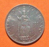 VATICAN 100 LIRE 1967 -UNC, Europa