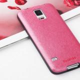 Husa Samsung Galaxy S5 TPU Red + Folie Protectie by Yoobao Originala