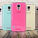 Husa Samsung Galaxy S5 TPU 0.3mm + Folie by Yoobao Originala Red Yellow
