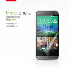 Folie HTC ONE 2 M8 Transparenta by Yoobao Made in Japan Originala - Folie de protectie Yoobao, Lucioasa