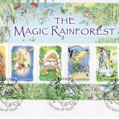 AUSTRALIA 2002 BASME, LEGENDE - MAGIC RAINFOREST FDC