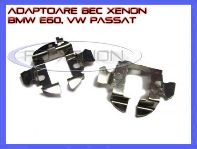 ADAPTOR - ADAPTOARE BEC XENON H7 BMW E60, VW PASSAT, OPEL ASTRA H foto