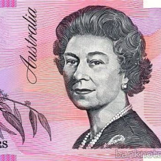 AUSTRALIA █ bancnota █ 5 Dollars █ 2013 █ P-57 █ UNC █ necirculata █ polymer