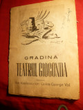 Caiet Prezentare 1946 - Gradina Teatrului Gioconda -Opereta -Bal la Savoy de Paul Abraham
