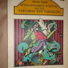 Extraordinarele aventuri ale lui Tartarin din Tarascon (ilustratii-Val Munteanu)-Alphonse Daudet - Carte de povesti