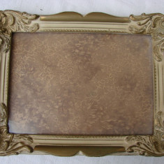 Superba rama din lemn, perioada interbelica - Tablou autor neidentificat, Altul
